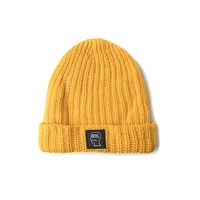 Brain Dead Cotton Beanie (Yellow)