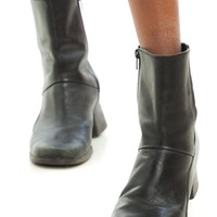 Vintage 90's Brazilian Leather Everyday Boots - US 10
