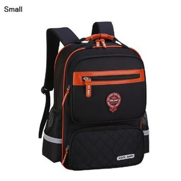 Cool Backpack school High Quality Children Students Backpacks Waterproof Nylon Backpack Kids School Bags For Teenagers Boys Child Book Bag  Gift AT_52_3