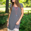Layered With Ease Dress, Black