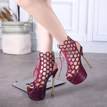 Jayla Honeycomb Stilettos