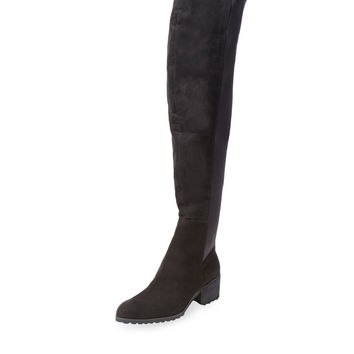 Charles by Charles David Women's Rose Over The Knee Boot - Black -