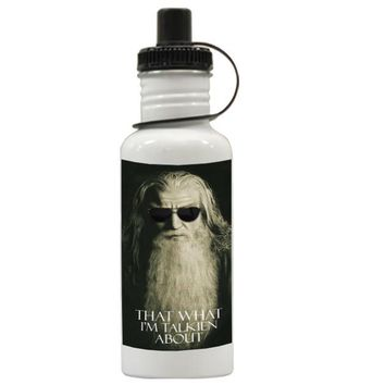 Gift Water Bottles | Funny Gandalf The Hobbit Aluminum Water Bottles