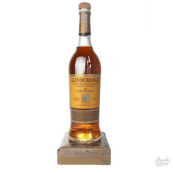 Reclaimed Single Malt Scotch Bottle Liquid Desk Lamp