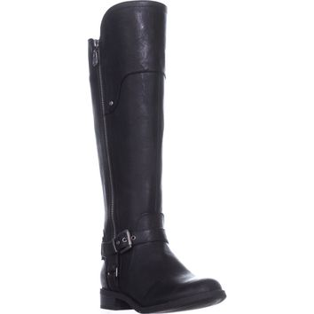 G by Guess Harson Tall Riding Boots, Black Multi, 6.5 US
