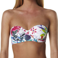 TALULAH BRILLIANT LIGHT UNDERWIRE BALCONETTE SEPARATE TOP - TROPICAL