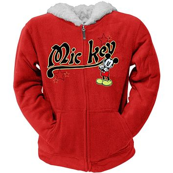 Mickey Mouse - About Mickey Women's Zip Hoodie
