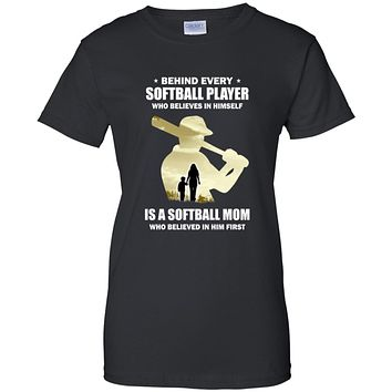 Behind Every Softball Player Is A Mom That Believes