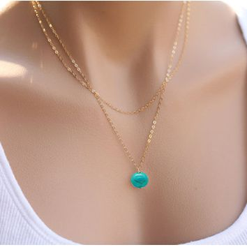 Hot shaped Charm Pendant Necklace Women Simple Necklace Lovers Gift Gold Color Initial Choker