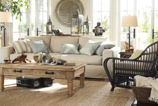 Room decorating ideas room d cor ideas from pottery barn for Pottery barn design ideas