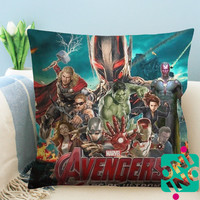 Avengers Age of Ultron Zippered Pillow Case, Cushion Case, Pillow case