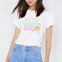 Skinny Dipping Graphic Tee