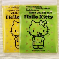 Pack of 25 Poly / Cello Ziplock Bags  Hello Kitty by charmstore