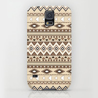 iPhone 6 ihone 6 Plus iPhone 5 iPhone 5s iPhone 5c iPhone 4 iPhone 4s Samsung Galaxy S5 Galaxy S4 Phone Case. Ethnic Tribal Brown Phone Case