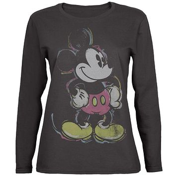 Mickey Mouse - Stance Juniors Long Sleeve T-Shirt