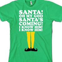 Grass T-Shirt | Cute Elf Christmas Shirts