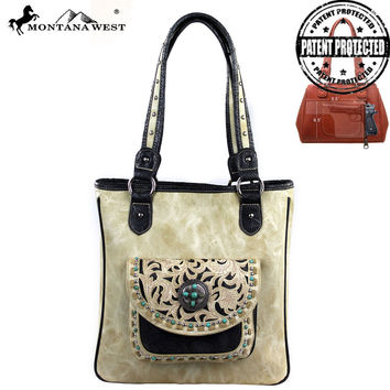 Montana West MW148G-8561 Concealed Carry Handbag
