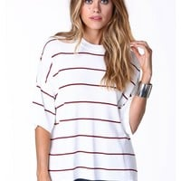 Kimberly Striped Boxy Sweater