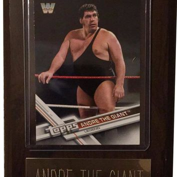 "Andre The Giant 4"" x 6"" WWE Legend Wrestling Plaque"