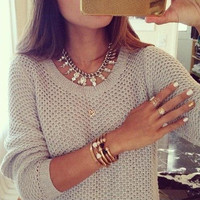 Loose Casual Round Neck Sweater