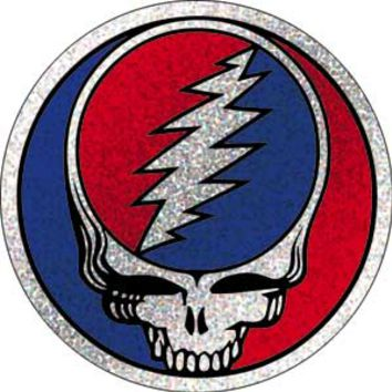 Grateful Dead - Glitter SYF Button