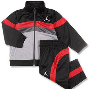 Jordan Baby Set, Baby Boys Jordan 2-Piece Tricot Jacket and Pants - Kids Baby Boy (0-24 months) - Macy's