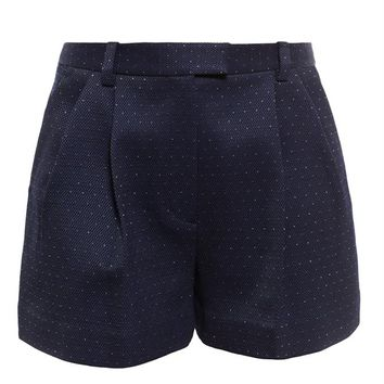 3.1 PHILLIP LIM | Shorts with Lurex Dots | brownsfashion.com | The Finest Edit of Luxury Fashion | Clothes, Shoes, Bags and Accessories for Men & Women
