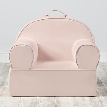 Large Light Pink Nod Chair