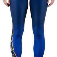 St. Louis Blues Womens Gradient Official NHL Print Leggings