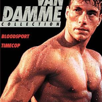 VAN DAMME COLLECTION:BLOODSPORT/TIMEC