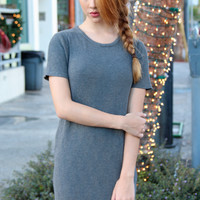 Lana Knit T-shirt Dress