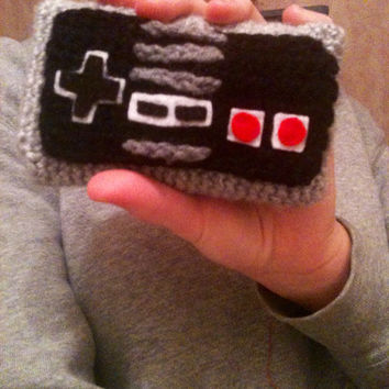 Crochet Nintendo Controller Cell Phone Cozy
