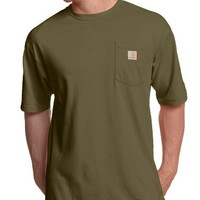 Carhartt Men's Workwear Short-Sleeve T-Shirt in Original Fit K87