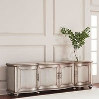 Hooker Furniture Garrick Metal-Wrapped Entertainment Console