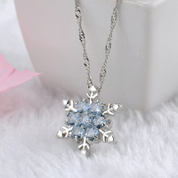 Women Fashion Jewelry New Year Christmas Gifts Gemstone Stylish Innovative Pendant Necklace With Gift Box [9647235471]