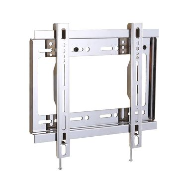 Universal TV Wall Mount Flat Screen Stand Fixed Slim Strong Stable TV Bracket Stainless Steel  Bracket for TV 17''-32''