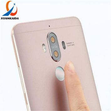 With Touch ID Fingerprint Identification For Huwei Ascend P10 Plus Honor V9 Mate9 Pro Home Button Protective Sticker