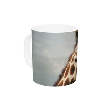 "Angie Turner ""Giraffe"" Animal Ceramic Coffee Mug"