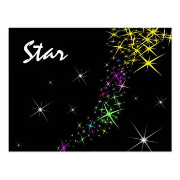 Christmas Star Postcard