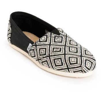 Toms Classic Woven Diamond Women's Shoes