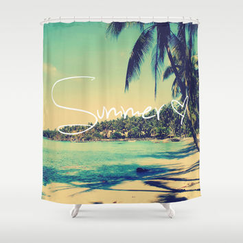 Best Vintage Beach Shower Curtain Products on Wanelo