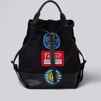 Opening Ceremony Izzy Fruit Sticker Backpack - WOMEN - JUST IN - Opening Ceremony