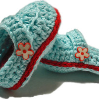 Crochet Baby Booties, Baby girl booties, Crochet Baby shoes