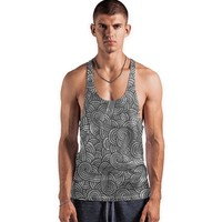 'Grey and black swirls doodles' Vests by Savousepate on miPic