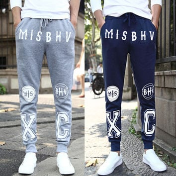 Men Casual Sporty Fashion Jogger Pants