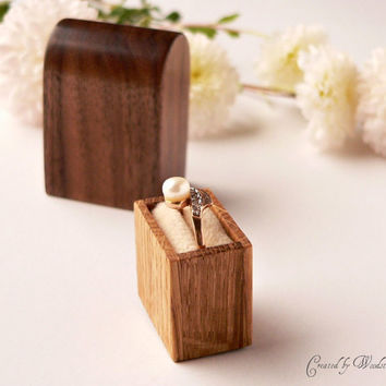 Engagement ring box - original Woodstorming design