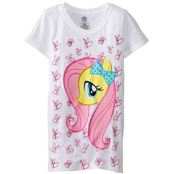 My Little Pony - Fluttershy All-Over Butterflies Girls Youth T-Shirt