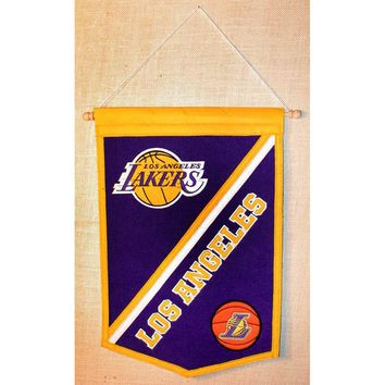 Los Angeles Lakers NBA Traditions Banner (12x18)
