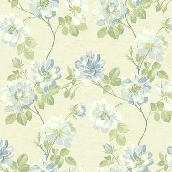 York JC5901 Opal Essence Wild Rose Wallpaper