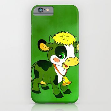 Childhood Cow iPhone & iPod Case by Texnotropio